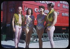 1940s Color Photos of the Ringling Brothers, Barnum and Bailey Circus - Brian Resnick - The Atlantic