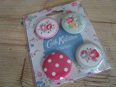 Cath Kidston badges by bLaCkBeRrY jAm, via Flickr