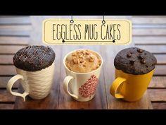 Eggless Mug Cakes | 2 Minute Microwave Mug Cakes | Beat Batter Bake With Priyanka - YouTube