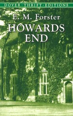 The disregard of a dying woman's bequest, a girl's attempt to help an impoverished clerk, and the marriage of an idealist and a materialist -- all intersect at an estate called Howards End.