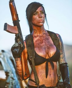 Quiet cosplay by Alex Zedra Alex Zedra, Warrior Girl, Female Soldier, Military Women, N Girls, Badass Women, Girl Gifs, Sexy Hot Girls, Cosplay Girls