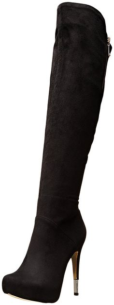 Women's Luichiny High Rise Boot -- This is an Amazon Affiliate link. For more information, visit image link. Women's Over The Knee Boots, Cool Boots, Black Boots, Heeled Boots, Heels, Snow Boot, Womens Fashion, Image Link, Amazon
