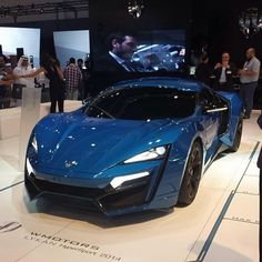 Lykan Hypersport. A 750-horsepower mid-engine supercar made by Arabia's W Motors…