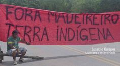 Urgent: loggers and farmers threaten to invade this weekend the indigenous land Alto Turiaçu, KA'APOR June 18, 2016 Environmental Racism CombateRacismoAmbiental For The Curupira The people KA…