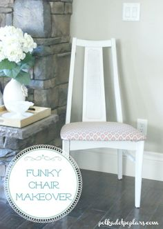 Funky Chair Makeover