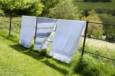 Organic hand loomed white bath towel - Ribbed or squares by punica Ltd. designed in Turkey Pop Up Shops, Summer Essentials, Beautiful Hands, Bath Towels, Loom, Hand Weaving, Organic, September 2014, Squares