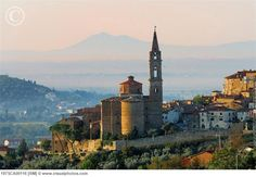 The first and still one of my favorite places to visit in Italy - Castiglion Fiorentino.