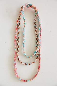 braided necklace | Flickr - Photo Sharing!