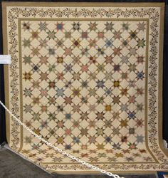 Aileen O'Toole Stannis-hand pieced and hand quilted. Amazing artistry in her quilts.