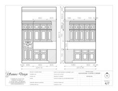 Kitchen Design Elevations a detailed elevation of a traditional kitchen featuring faced