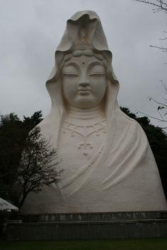 Kannon Goddness of Mercy Ofuna, Kamakura, Japan...........v