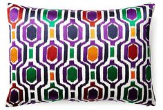Poppy 14x20 Cotton Pillow, Multi | Instant Refresh | One Kings Lane