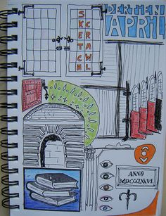 Sketchcrawl Gouda 13042013 Journal van Loes
