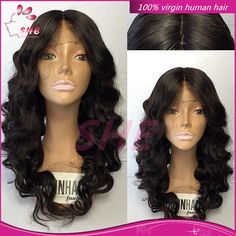 130% Density 7A Glueless Full Lace Wigs Brazilian Virgin Hair Wavy Lace Front Wig Full Lace Human Hair Wigs For Black Women Online with $77.07/Piece on Sheladyhouse's Store | DHgate.com