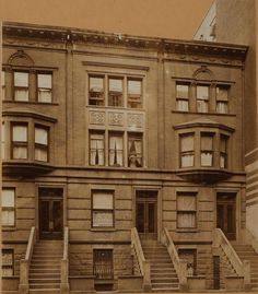 285-221 West 113th Street, north side, west of Seventh Avenue. About 1914.