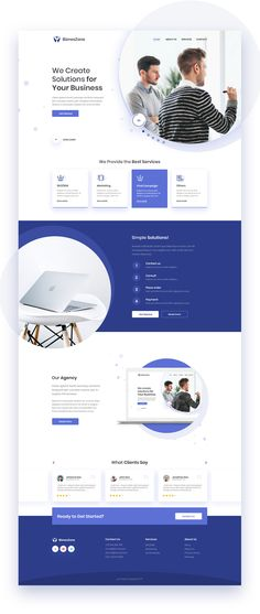 Bartłomiej Rudnik on Behance Page Layout Design, Website Design Layout, Website Design Inspiration, Web Responsive, Design Responsive, Web Ui Design, Web Design Agency, Flat Design, Design Design