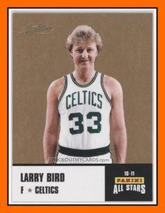 Old School Panini USA: La légende de Larry BIRD