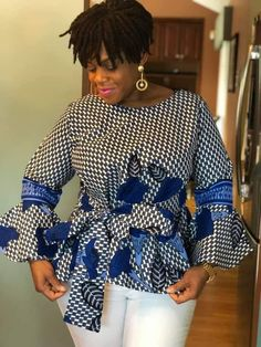 Latest African Styles, Latest African Fashion Dresses, African Print Dresses, African Print Fashion, African Dress, African Blouses, African Tops, African Attire, African Wear