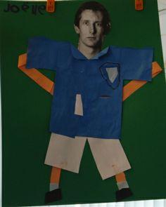 Knutselen: voetballer