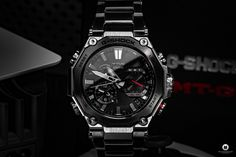 Casio released the latest generation of its G-SHOCK MTG-B2000D-1AER series, which I was now allowed to test as MTG-B2000D 1AER. Casio G-shock, Casio Watch, Watch Blog, Latest Generation, Mtg, In This Moment, Luxury Watches, Fire Department, Watch