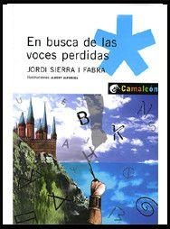 """Ficha de lectura de """"En busca de las voces perdidas"""" de Jordi Sierra i Fabra, realizada por Pedro Herrero."""