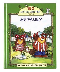 Dover Publications Big Little Critter Book: My Family Hardcover Big Little, Little Books, Mercer Mayer, Wiggles Birthday, Dover Publications, Little Critter, Reading Skills, Short Stories, Childrens Books
