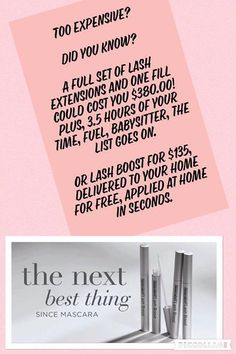 Rodan + Fields Lash Boost is a nightly conditioning serum that improves the appearance of eyelashes with Keratin and Biotin. Message me on pinterest @ R+Fskincare101 for more info.