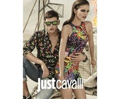 Just Cavalli Spring/Summer 2014. Style men and women