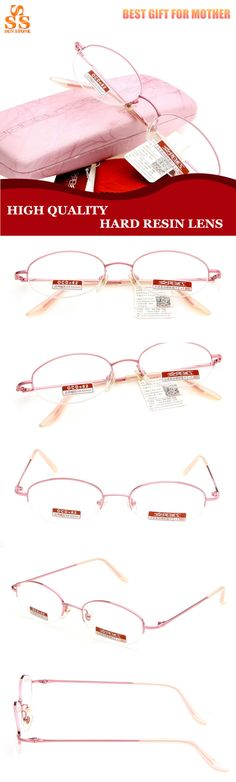 c90761b0ecb4 Aliexpress.com   Buy Hot Selling Brand Anti Fatigue Exquisite Pink Slim  Hard Resin Lens Presbyopia Reading Glasses
