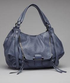 Take a look at this Denim Jonnie Shoulder Bag by Kooba on #zulily today!