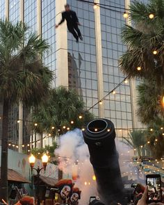 @captainmorganusa knows how to launch the new Cannon Blast shot the right way...by launching a man out of a cannon. So casual #hashtagboom #cannonblastcrawl by betches