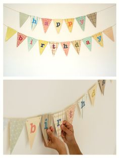 Happy Birthday Bunting | The Paperface