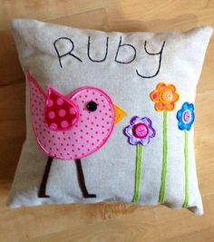 http://folksy.com/items/3154466-Pink-Funky-Bird-Cushion