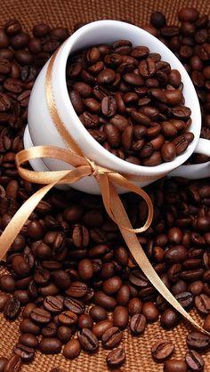 Coffee cup n beans