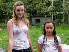 with Caitlin