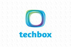 tech box - $300 http://www.stronglogos.com/product/tech-box #logo #design #sale #computer #IT #software #technology #app #programmer