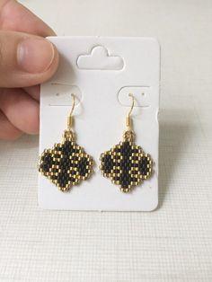 Drop Earrings, Stitch, Beads, Diy, Jewelry, Fashion, Bead Earrings, Beauty, Santiago