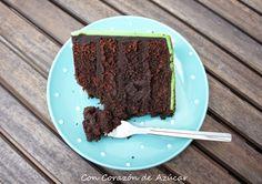 Chocolate Mud Cake {Receta adaptada a distintos tamaños de moldes}