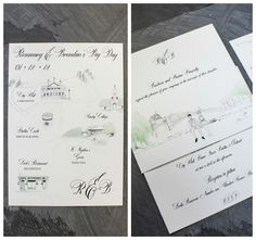 Some close up shots of some of the stationery created for the couple. Dublin City, Elegant Wedding, Close Up, Shots, Reception, Stationery, Couples, Day, Travel