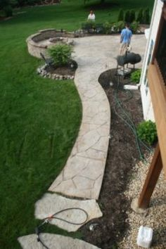 Our exclusive stamped concrete cleaning services use the latest technology, methods, and equipment available for optimal results. | www.paverprotector.com #paverprotector