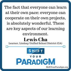 from school-centered to learner centered Learning Environments, School District, Facts, Truths