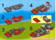 lego race car instructions - Google Search