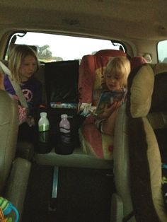 Road Tripping with Kids. Lots of ideas and color coding so no fights