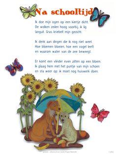 Plint - poëzieposter Na schooltijd Rogier Walrecht