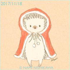 Hedgehog Drawing, Hedgehog Art, Cute Hedgehog, Animal Sketches, Animal Drawings, Cute Drawings, Pictures To Draw, Cute Pictures, Hedgehog Illustration