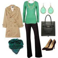 """fall wear to work"" by monicaandree on Polyvore"