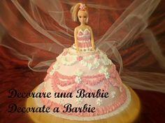 Barbie cake tutorial