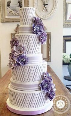 Wedding cake idea; Featured Cake: Bobbette and Belle