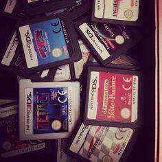 Quelques uns de mes jeux DS et 3DS