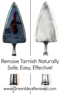 An all natural method for cleaning tarnished silver using baking soda and aluminum foil!  Safe and easy, and it really works!